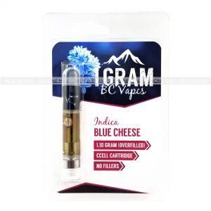 Blue Cheese BC Vapes THC Distillate Cartridge