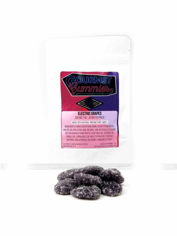 Electric Grapes Gourmet Gummies