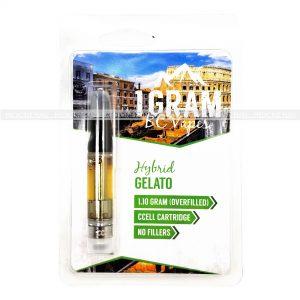 Gelato BC Vapes THC Distillate