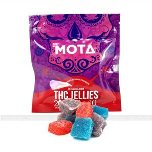 MOTA's THC Wildberry Jellies
