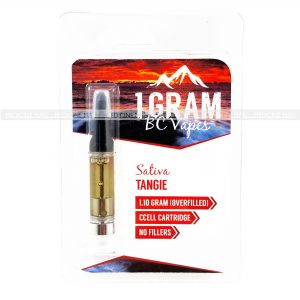 Tangie BC Vapes THC Distillate Cartridge