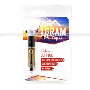 Jet Fuel BC Vapes THC Distillate Cartridge