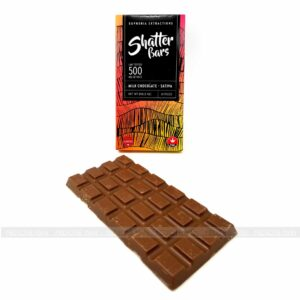 Sativa Shatter Milk Chocolate Bar Euphoria Extractions