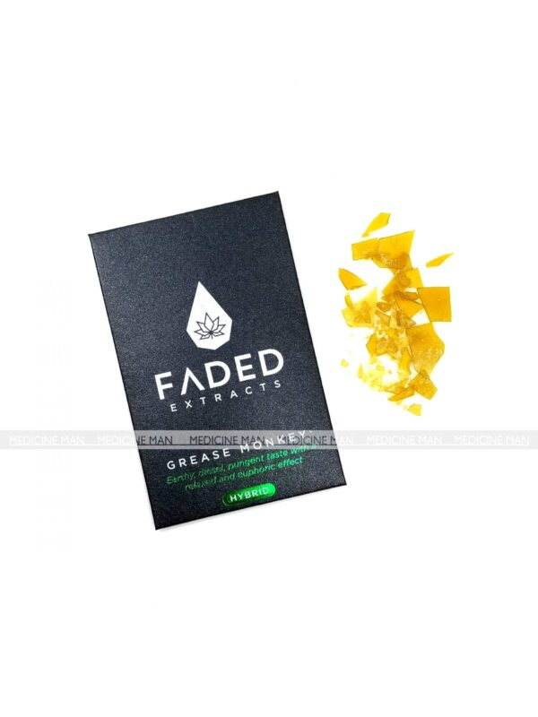 Grease Monkey Indica Hybrid Faded Extracts