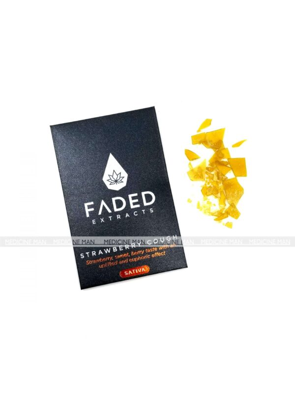 Strawberry Cough Sativa Faded Extracts Shatter