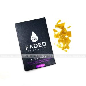 Tuna Kush Indica Shatter Faded Extracts