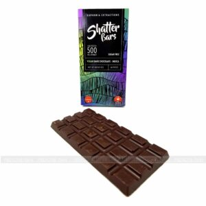 Euphoria Extractions Indica Vegan Dark Chocolate Bar 500mg