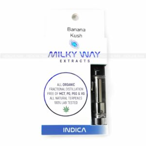Banana Kush THC Distillate Cartridge