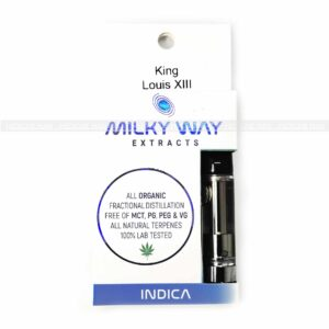 King Louis XIII Milky Way Extracts Cartridge
