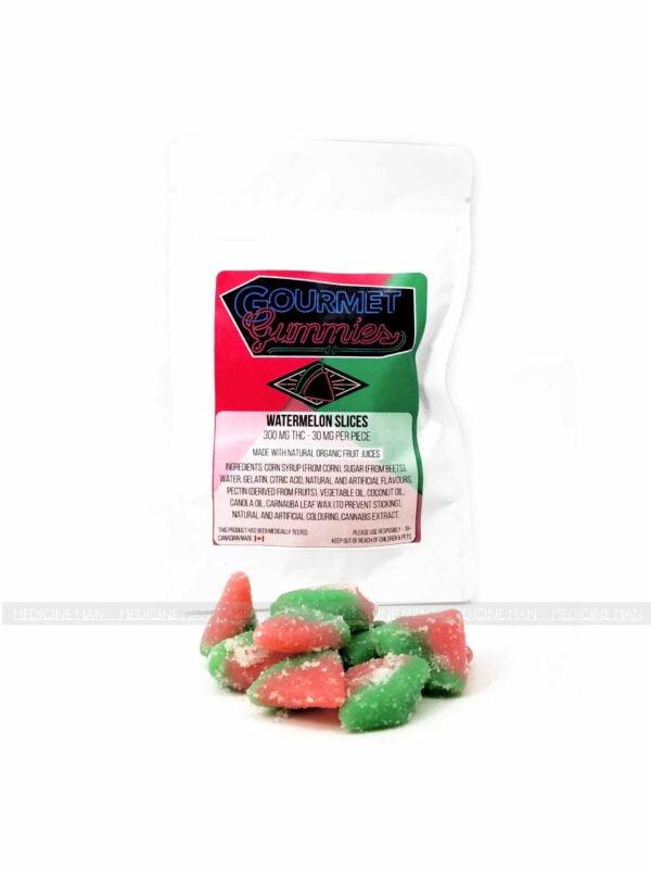 Watermelon Slices Gourmet Gummies