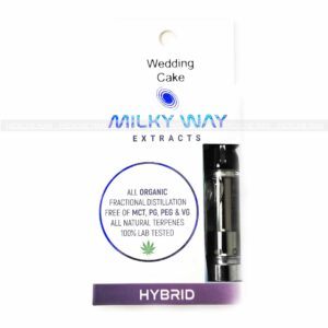 Wedding Cake Milky Way Extracts Cartridge