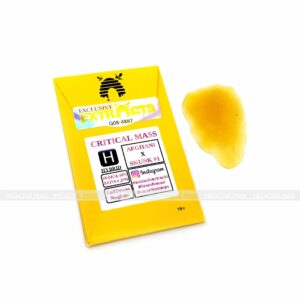 Critical Mass Indica Hybrid Exclusive Extracts