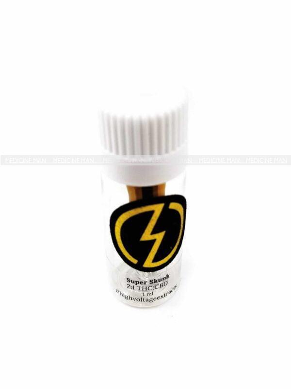 Super Skunk THC:CBD Distillate HTFSE Cartridge