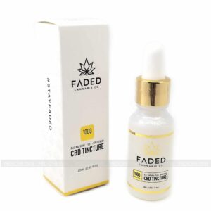 Full Spectrum CBD Tincture 1000mg Faded Extracts
