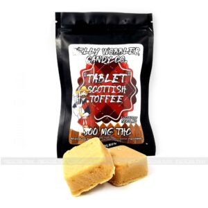 Scottish Toffee Tablets 300mg