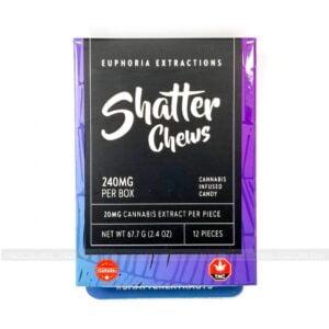 Shatter Chews 240mg Euphoria Extractions