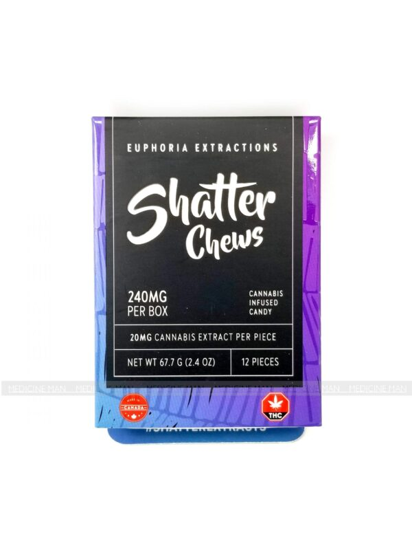 Shatter Chews 240mg Euphoria Extractions