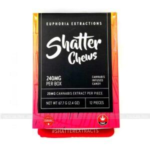 Sativa Shatter Chews 240mg Euphoria Extractions