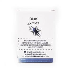 Blue Zkittlez Milky Way Extracts Cartridge