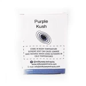 Purple Kush Milky Way Extracts Cartridge